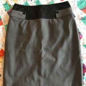 Like New Cass Pencil Skirt with Detailing